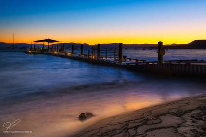 Lake Tahoeb Sunset