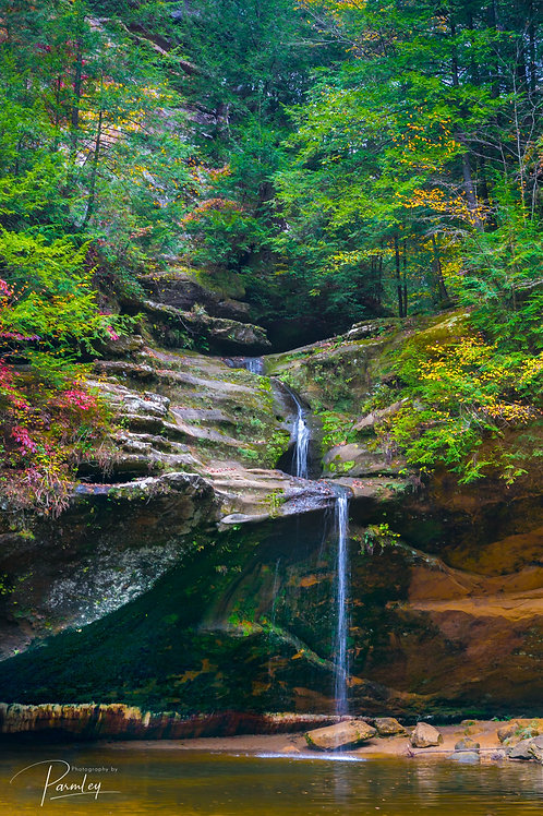Waterfall in Hocking Hills