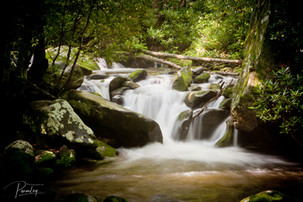 Water Fall in Smokey Mountains