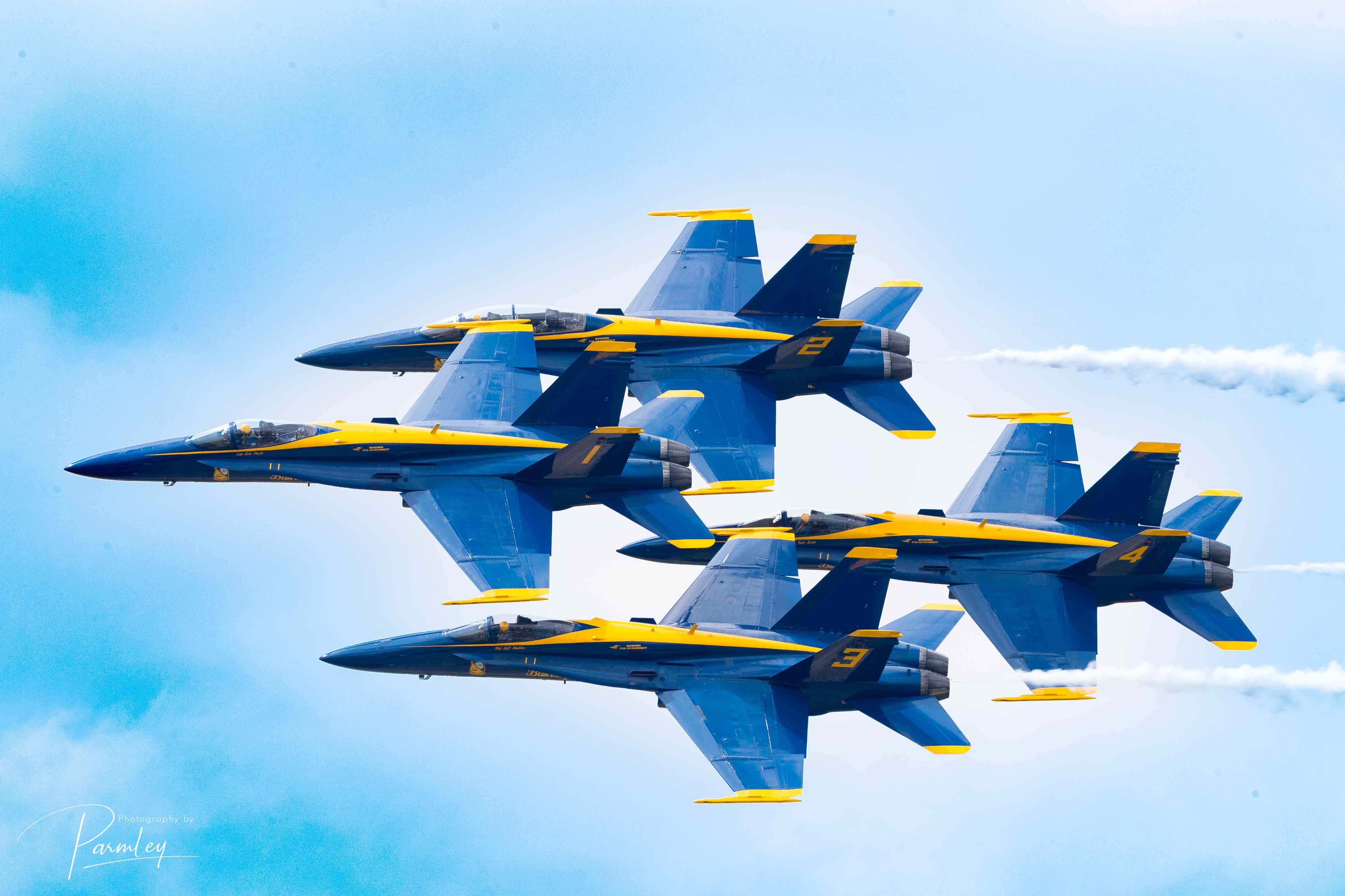 Blue Angels 2018 - Dayton, OH