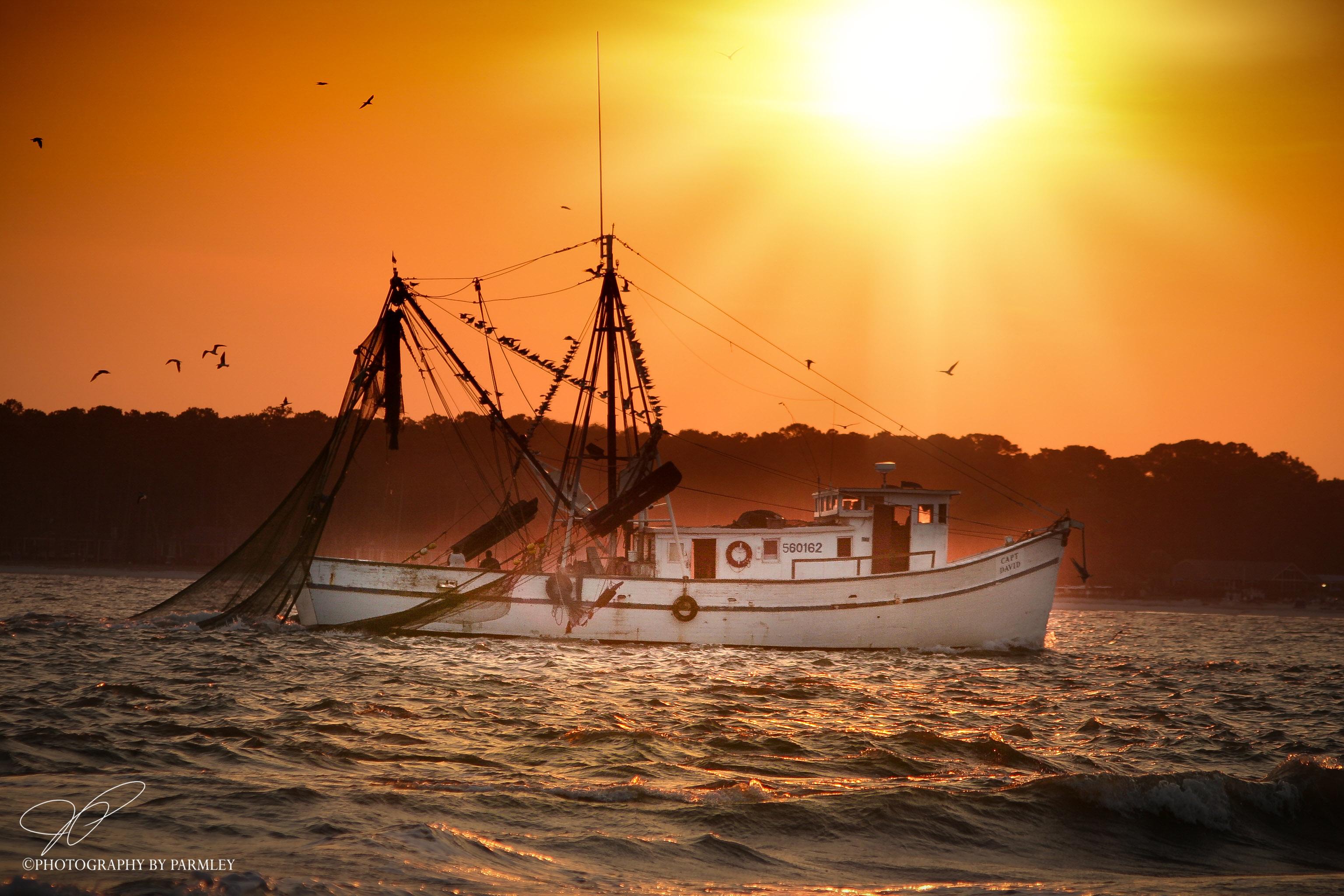 Hilton Head Fishing Boat