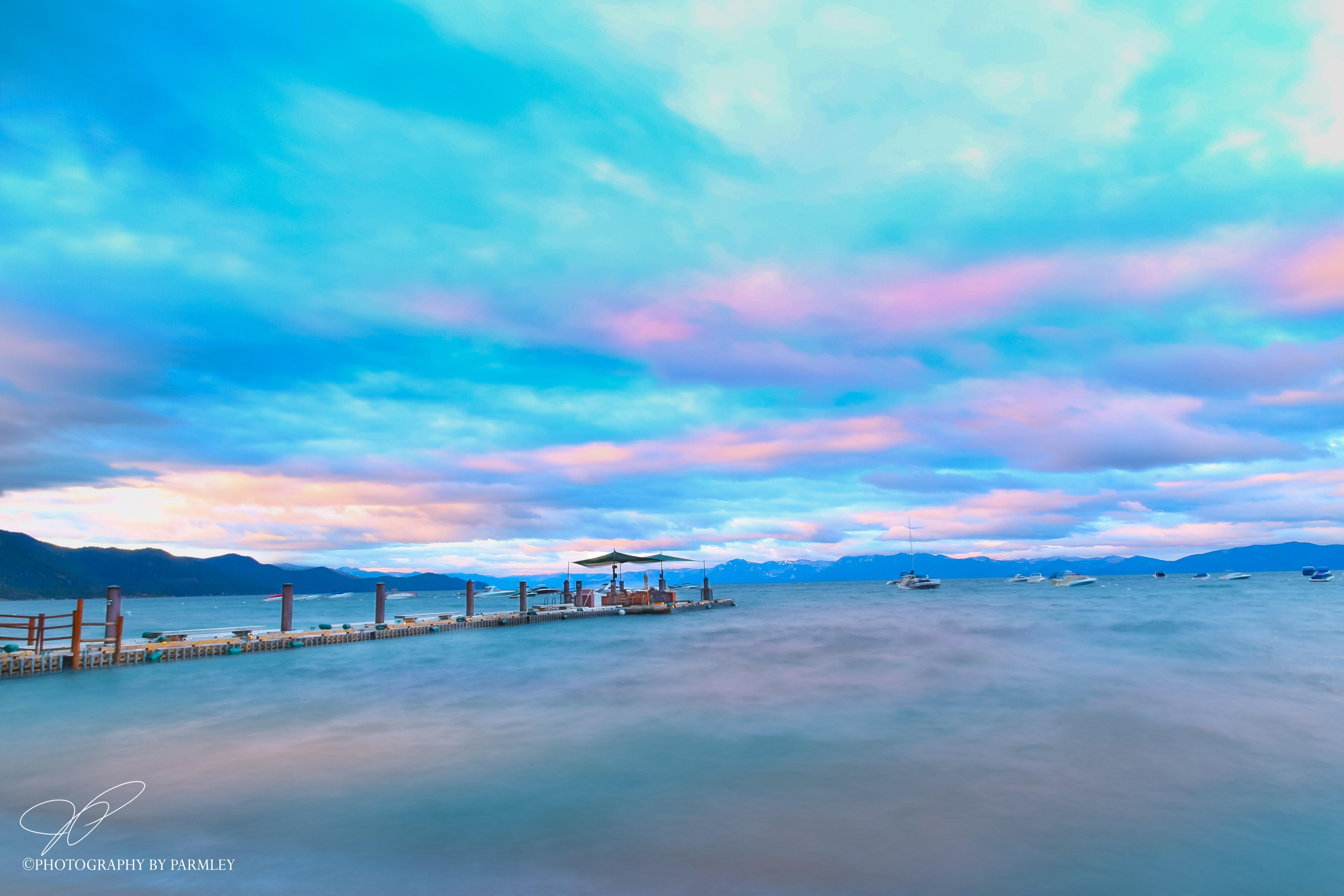 Lake Tahoe Lavender Sunrise