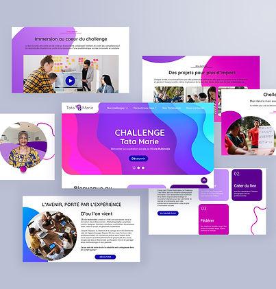 Présentation projet Challenge Tata Marie