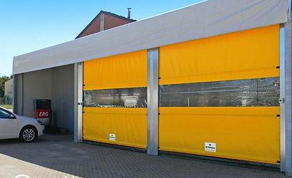 porta rápida industrial