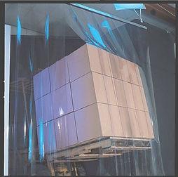 cortina em pvc cortina em pvc cristal