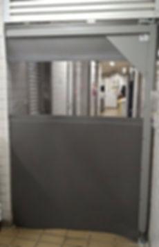 porta flexível em pvc flexdoor vai e vem porta vai e vem portas flexíveis em pvc impacto