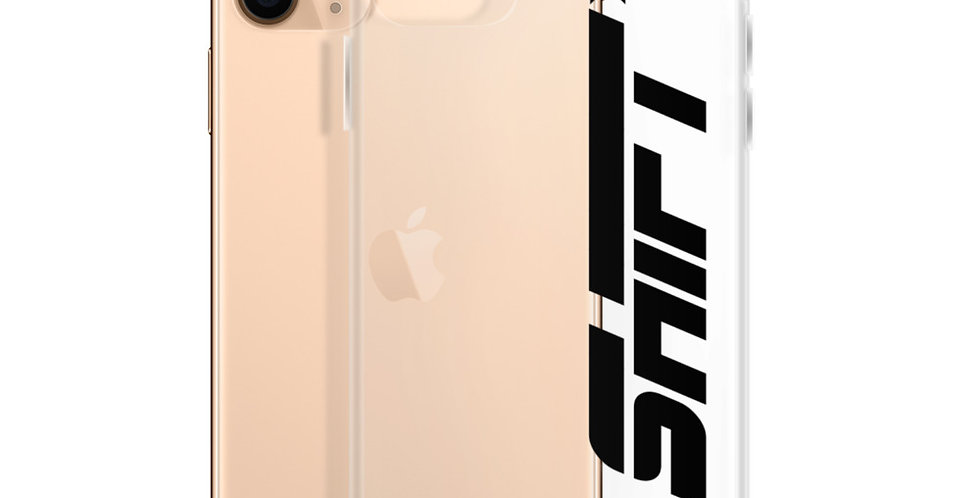 """Shift"" Clear iPhone Case"