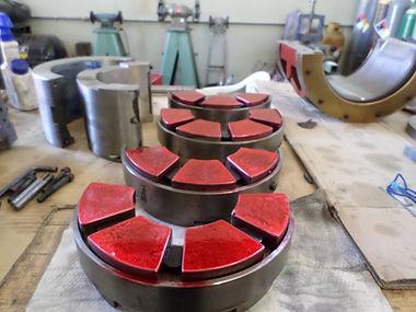 1 - PT Inspection of Thrust Bearing Pads.JPG