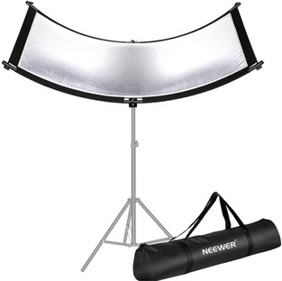167cm Curved clamshell reflector