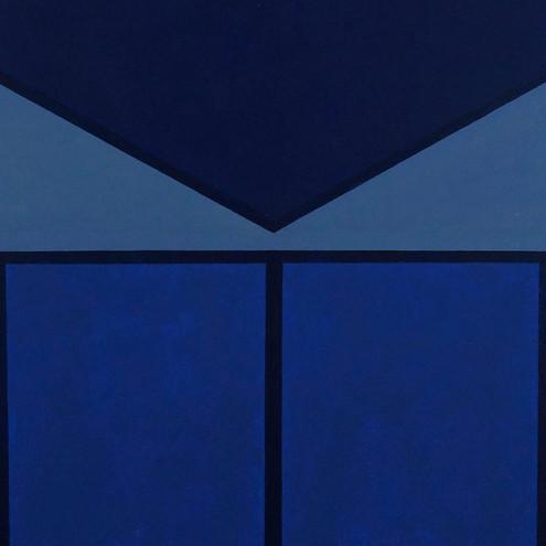 Small Blue Square | SOLD