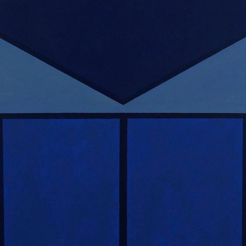 Small Blue Square   SOLD