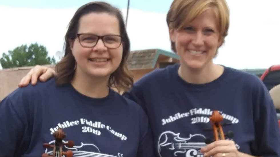 2021 T-shirt: Jubilee Fiddle Camp-EXTRA