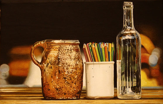 Jacques Bodin, still life, hyperrealism, hyperréalisme