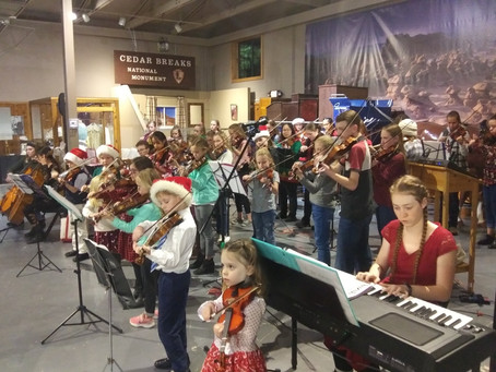 Frontier Homestead Christmas Performance 2019