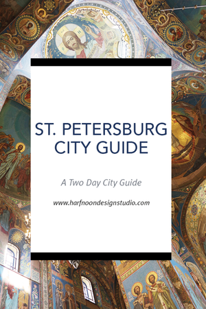 THE VENICE OF THE NORTH, ST. PETERSBURG CITY GUIDE