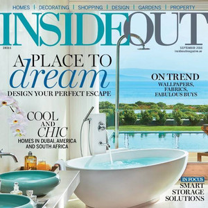 AS FEATURED IN INSIDEOUT MAGAZINE