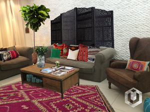 DESIGN STORIES :: THE ECLECTIC MODERN MOROCCAN HOUSE MAKEOVER