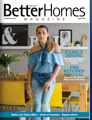 AS FEATURED IN BETTER HOMES MAGAZINE