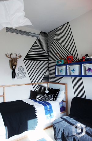 DIY :: THE GRAPHIC WALL