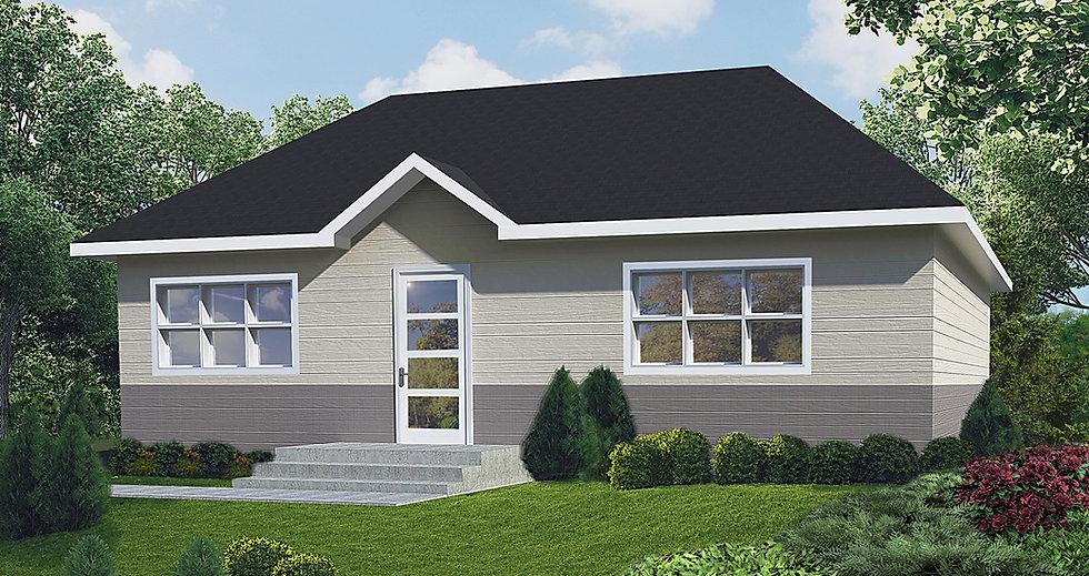 Maisons Rubix Citrine, maisons usinées, prefab homes, modular homes