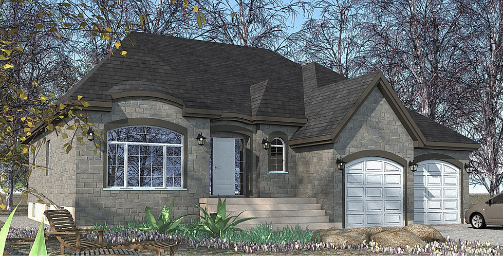 Maisons Rubix Lotus, maisons usinées, prefab homes, modular homes