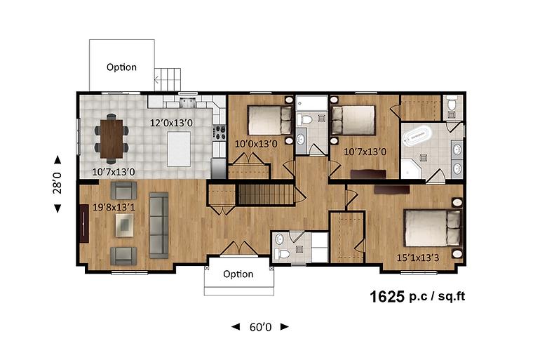 Maisons Rubix Alicia, maisons usinées, prefab homes, modular homes