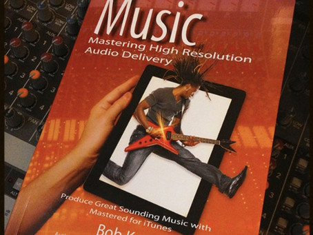 """Book review: """"iTunes Music : Mastering High Resolution Audio Delivery"""" by Bob Katz"""