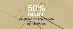 Erbjudande 50% rabatt