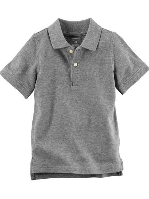 Camisa tipo Polo Gris