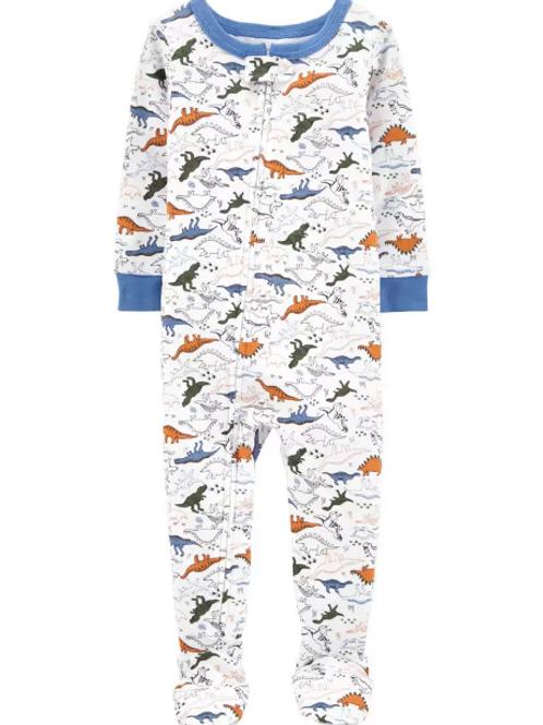 Pijama Algodón Dinosaurios