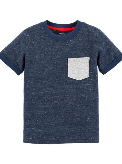 Camiseta Azul Oscuro