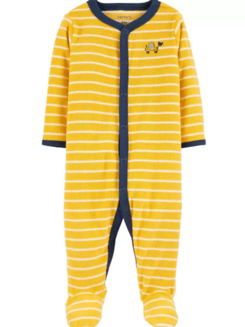 Pijama Rayas Construcción