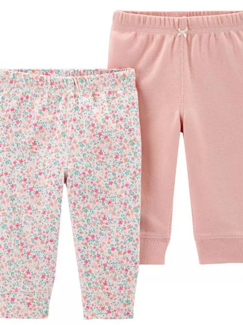Set de  2 Pantalones Floral