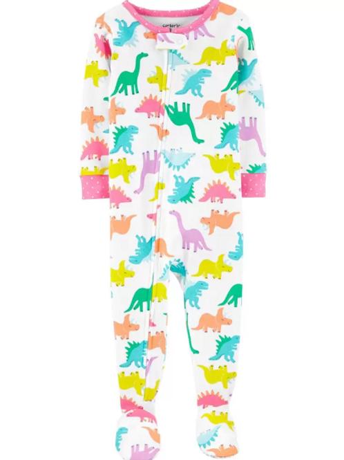 Pijama Algodón Dinosaurio Niña