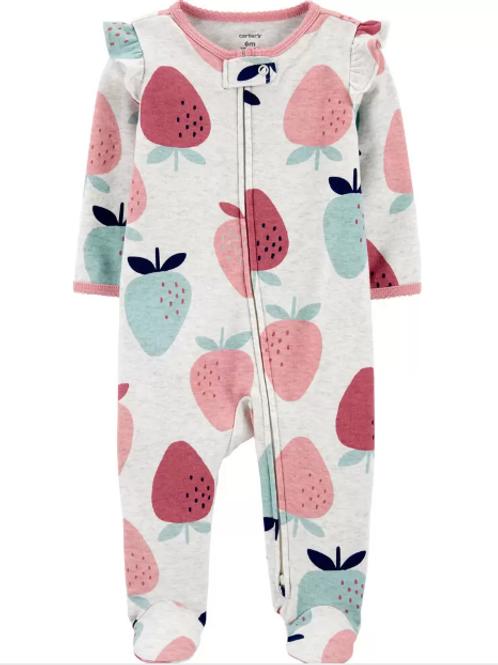 Pijama Algodón Fresa