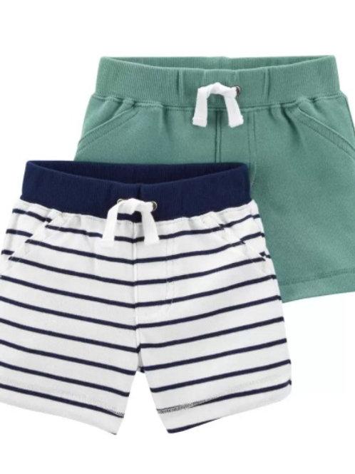 Set de 2  Shorts  Tortuga