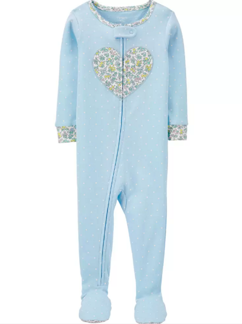 Pijama Algodón  Corazón