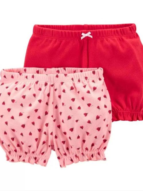 Set  2  Shorts Mariquita