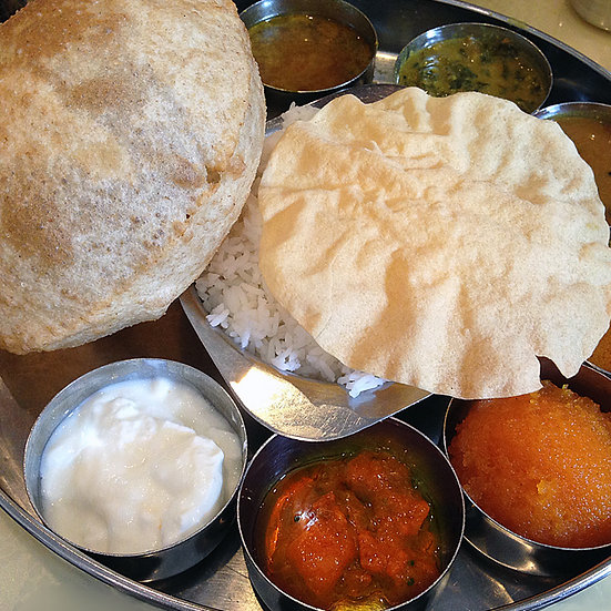 SOUTH INDIAN THAALI