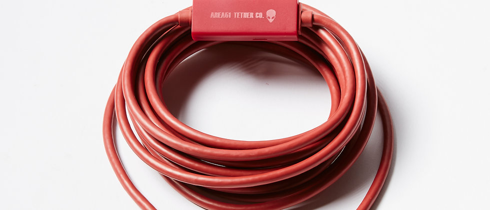 Area51 Tether Co - Groom Lake USB-C Tether Cable (4.6m)