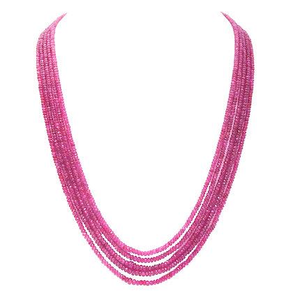 Precious Ruby Necklace