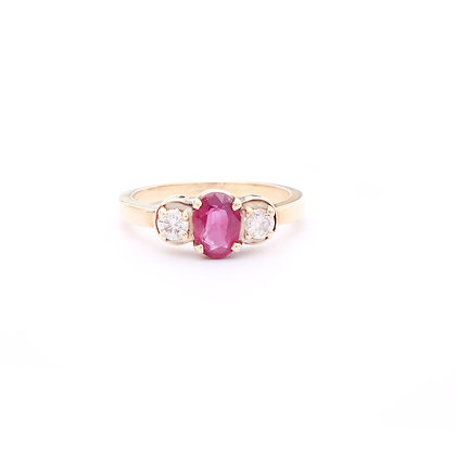 Ruby Diamonds Ring