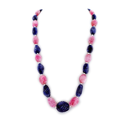 Splendorous Multi Sapphire Necklace