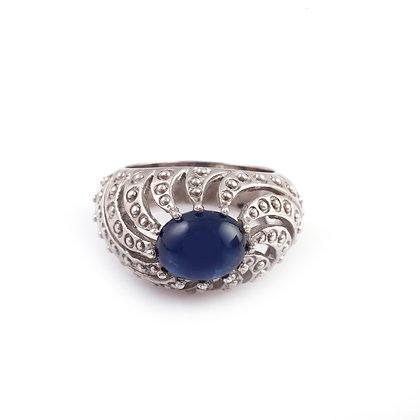 Blue Sapphire Designer Ring