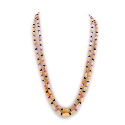Beautiful Multi Sapphire Necklace