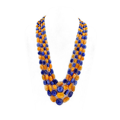 Multi Sapphire Important Necklace