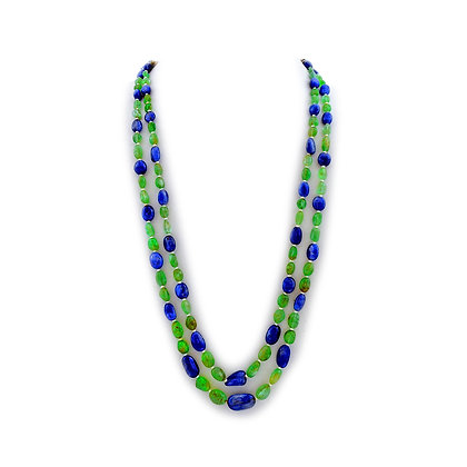 Important Sapphire & Emerald Necklace