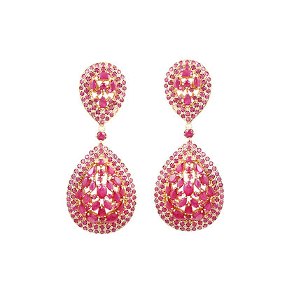 Ruby Earrings