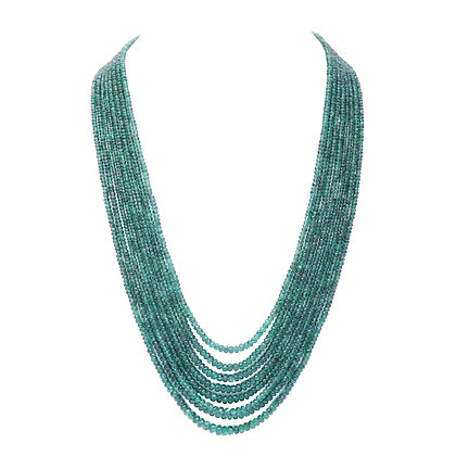 Precious Emerald Necklace