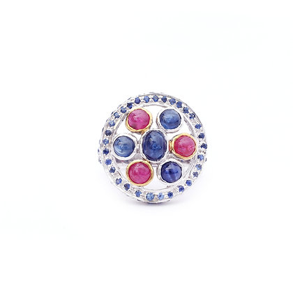 Beautiful Rubies & Sapphires Ring